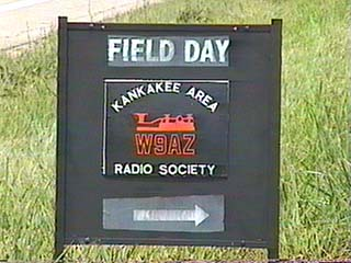N9MBR's FB Field Day sign, great job Bob!