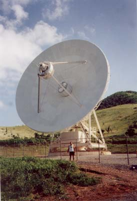 Photo 11 - (VLBA dish, WB9Z below)