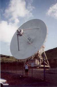Photo 1 - (VLBA dish at St. Croix), WB9Z pictured below.