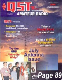 W9IOU Featured July 2001 QST page 89